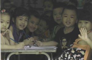 dzieci malo widac male