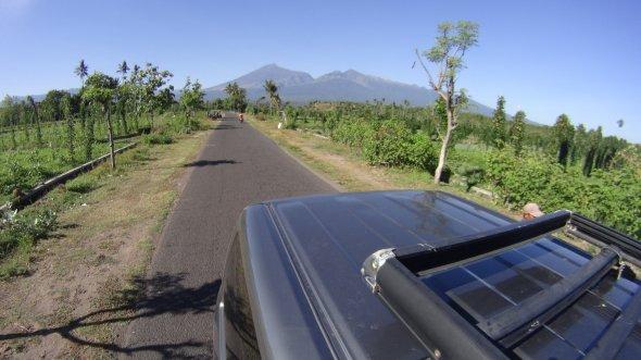 Wracamy pokonani przez Mount Rinjani